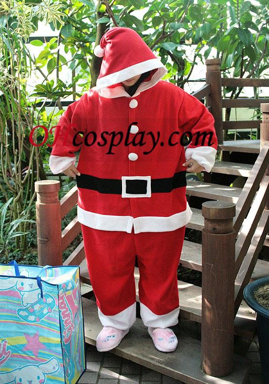 Kigurumi joulupukin asu pyjamat