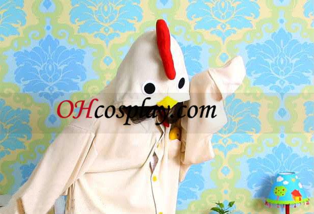 Cute Chicken Kigurumi Kostume Pyjamas