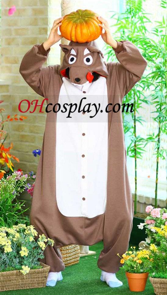 Wolf Kigurumi Costume Pajamas