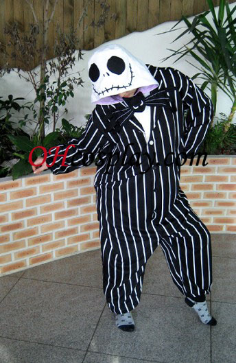 Кости Жак Kigurumi костюм пижами