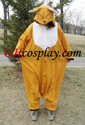 Sweet Fox Kigurumi Costume Pajamas
