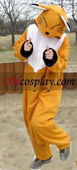 Søde Fox Kigurumi kostume Pyjamas