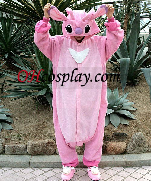 Stich Angel Kigurumi Costume Pajamas