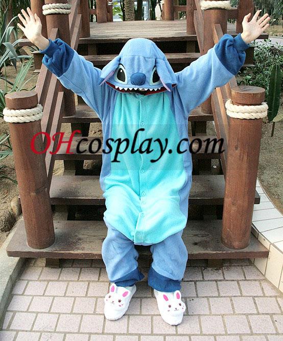 Stitch Kigurumi Kostume Pyjamas