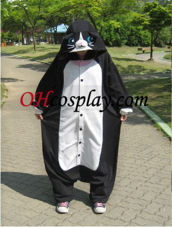 Night Cat Kigurumi Costume Pajamas