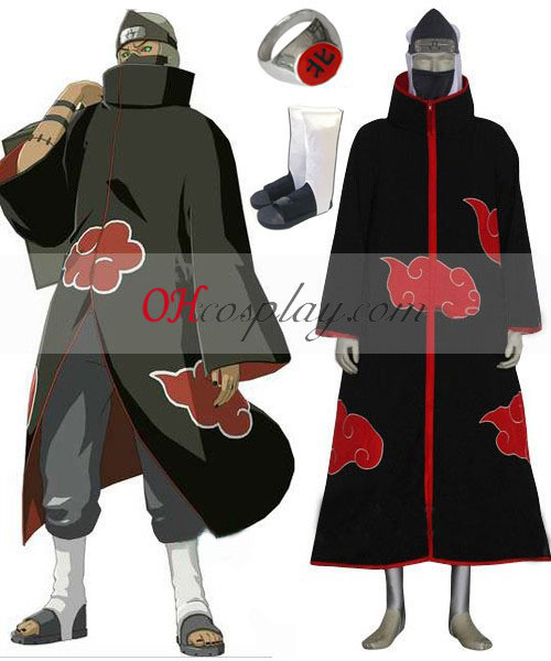 Naruto Akatsuki Kakuzu Deluxe Cosplay Costume Set