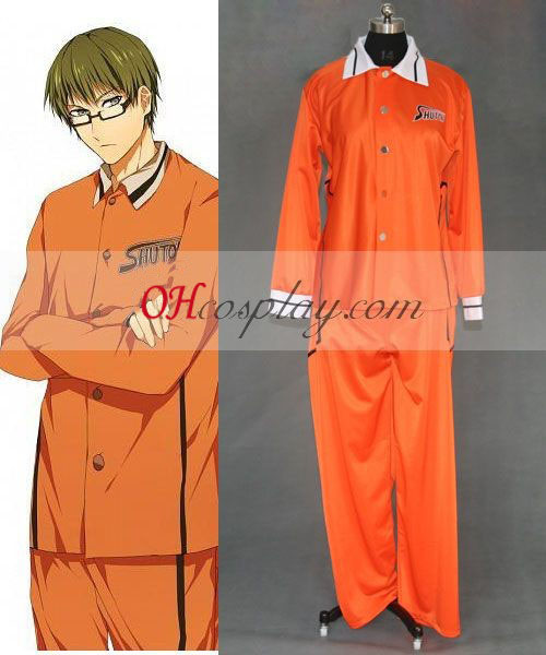 Kuroko's Basketbal shutoku uniforme cosplay costume
