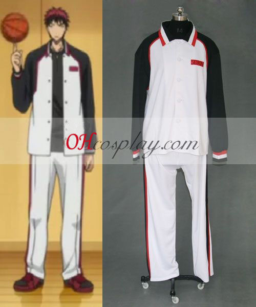 Kuroko's Basketbal Seirin uniforme cosplay costume