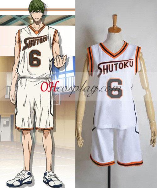 Kuroko по баскетбол SHUTOKU 6 Midorima Shintaro Cosplay костюм