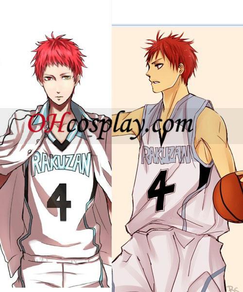 Kuroko rakuzan uniforme del basket Costumi Carnevale Cosplay