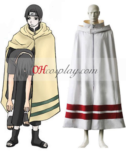 Naruto Leaf Village manto Traje Cosplay