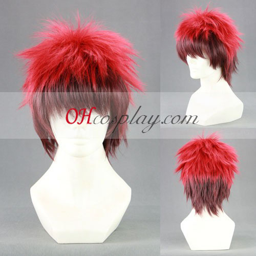 Kuroko košarkarsko Kagami tajgi črno-Rdeča Cosplay lasuljo