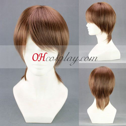 Kuroko's Basketball Aida Riko Brown Cosplay Wig