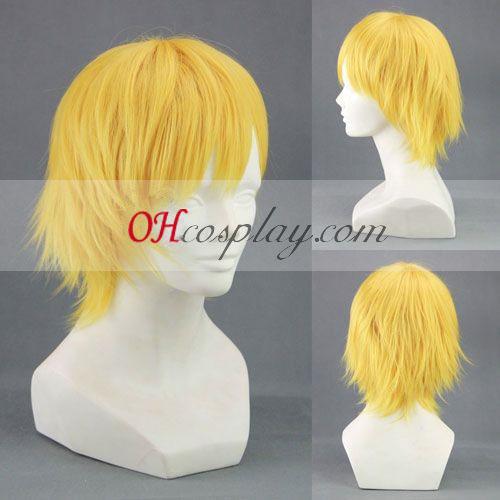 Kuroko по баскетбол Мако Кисе Ryota жълт Cosplay Wig