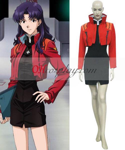 Неонови Генезис Evangelion Misato Katsuragi Cosplay костюм