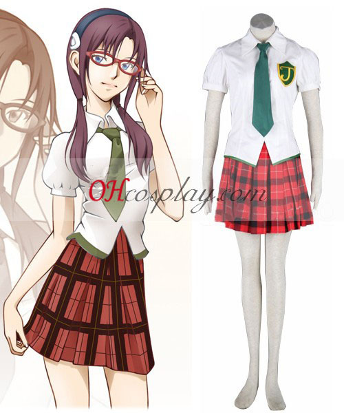 Neon Genesis Evangelion Makinami Uniform Cosplay Costume