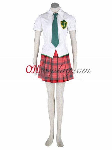 Neon Genesis Evangelion Makinami Uniform udklædning Kostume
