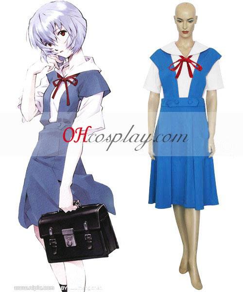 Неонови Генезис Evangelion Ayanami Rei еднакво Cosplay костюм