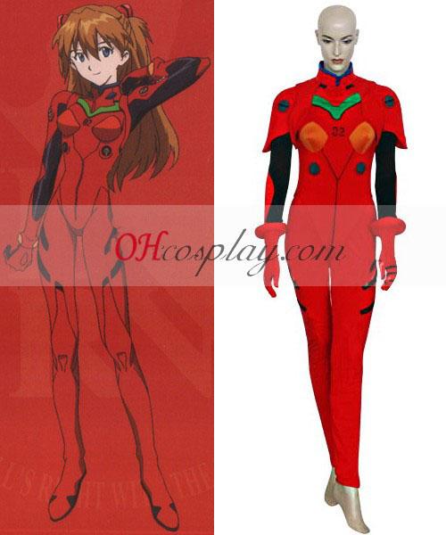 Neon Genesis Evangelion Asuka Plugsuit Costume Carnaval Cosplay