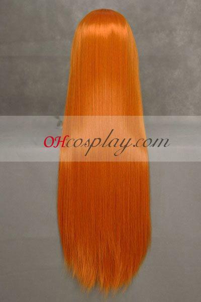 Neon Genesis Evangelion Asuka Langley Soryu udklædning paryk Orange