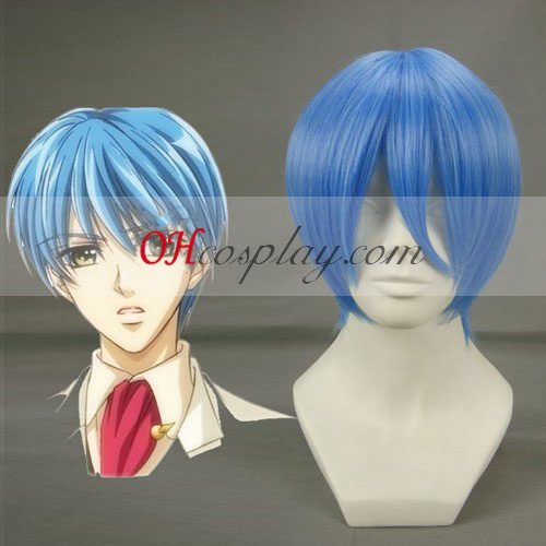 EVA-REI Ayanami sininen peruukki Cosplay