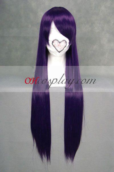 EVA Misato Katsuragi Purple udklædning Paryk