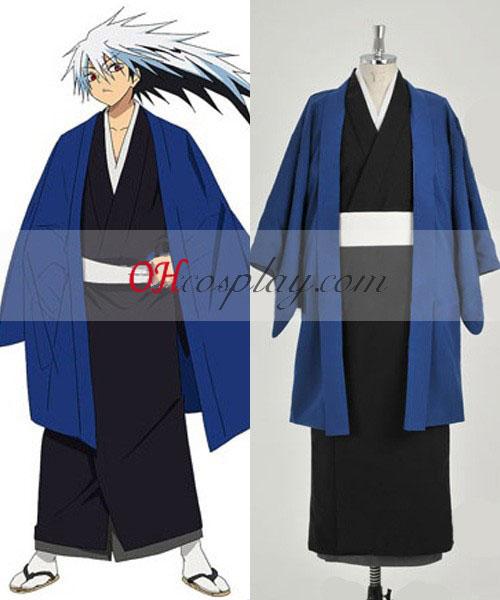 Nurarihyon ingen Mago Nura Riku Cosplay kostym Kimono