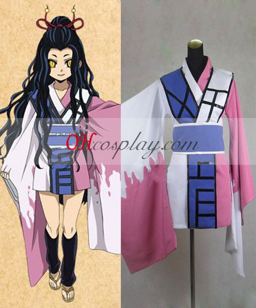 Nurarihyon geen Mago Kyoukotsu Cosplay Kostuum