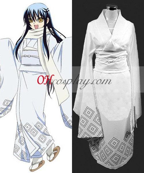 Nurarihyon geen Mago Yuki Onna Cosplay Kostuum