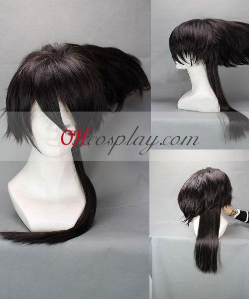 Nurarihyon niet al uw gezin overwegen Mago Nura Rihan Zwarte Cosplay Wig
