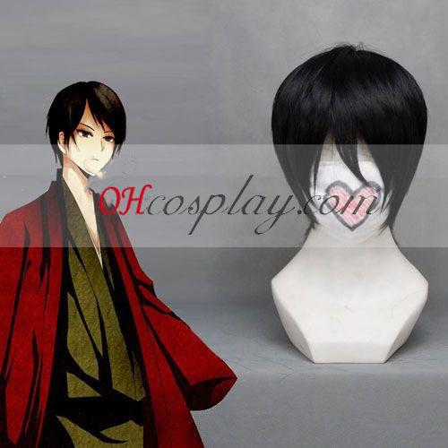 Nurarihyon it doesn\'t necessarily Mago Tamasiki Black Cosplay Wig