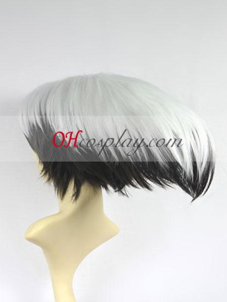 Nurarihyon n g ero Rikuo Nura Cosplay peruca Branca