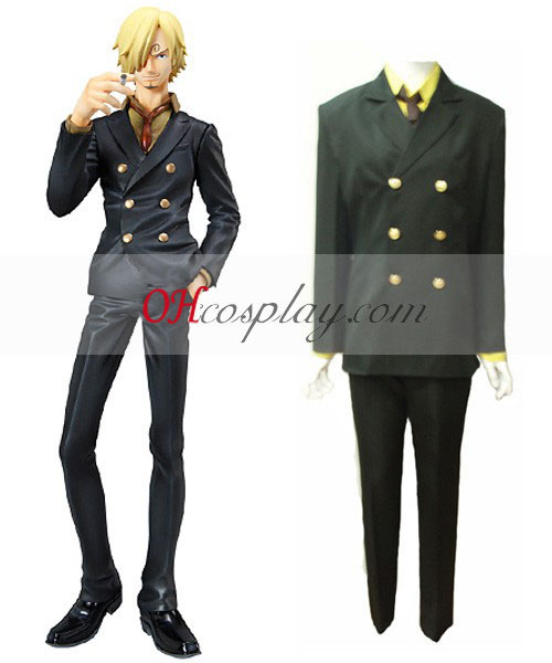Na Sanji One Piece 2Y Cosplay Kostuum