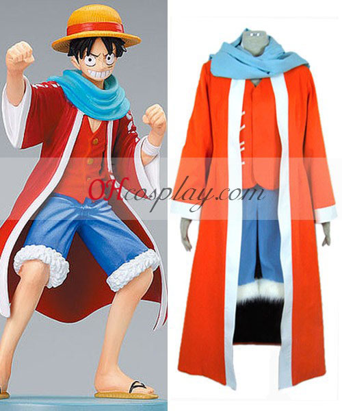 One Piece Monkey D Luffy Desert Cosplay Costume Australia