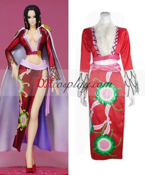 One Piece Kejserinden Boa Hancock udklædning Kostume