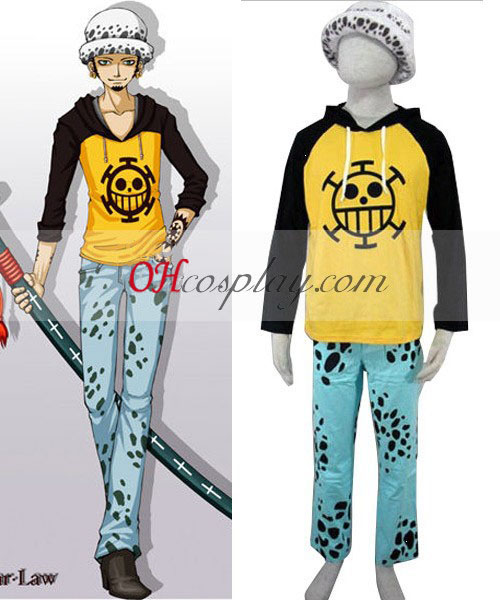 One Piece Trafalgar·Law (Newer) Cosplay Costume