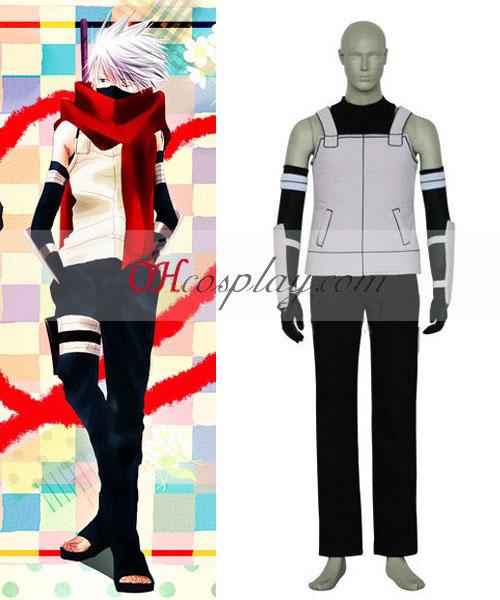Naruto Shippuuden Kakashi Anbu Cosplay Costume