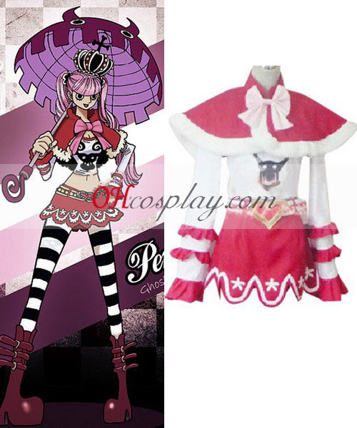One Piece Peron (Ghost prinsesse) cosplay kostume