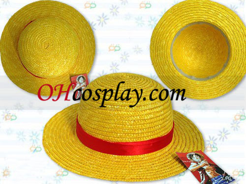 One Piece halmhatt Luffy Cosplay accesory