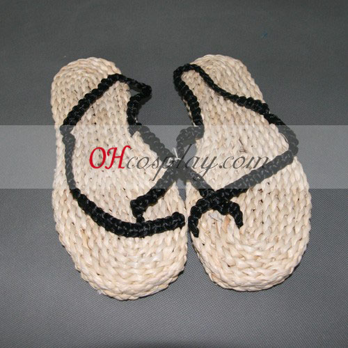 Едно цяло парче Luffy Cosplay слама сандали