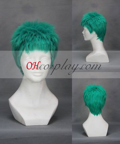 One Piece Zoro Green Cosplay Wig