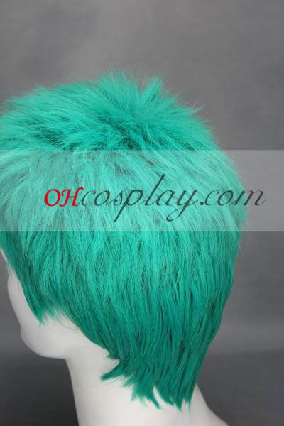 """Едно цяло парче \""""Зоро\""""зелена Cosplay Wig"""