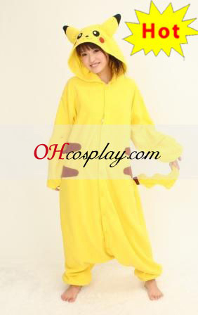 Pokemon Pikachu Cosplay Halloween Costume