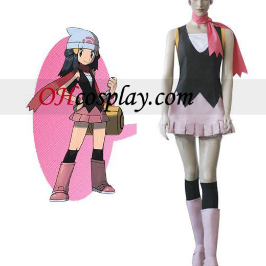 Pokemon Aube Costume Carnaval Cosplay