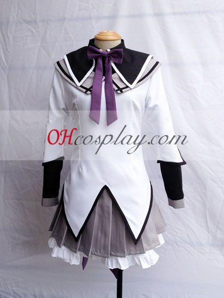 Влъхвите Puella Madoka Magica Akemi Homura Cosplay костюм