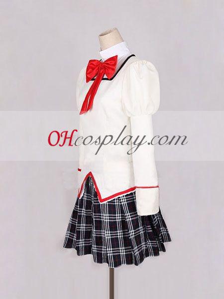 Влъхвите Puella Madoka Magica Канаме училище еднакво Cosplay костюм