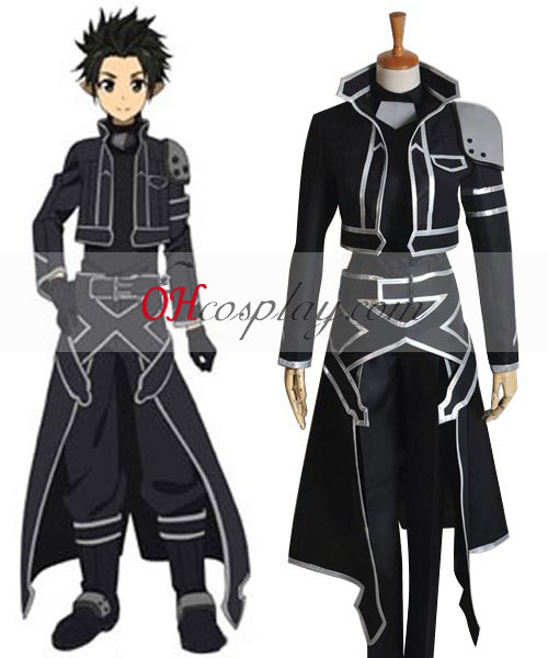 Sword Art Online (on-line) ALfheim Kirito Novo Cosplay Traje