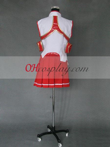 Sword Art Online Asuni Yuuki udklædning Kostume