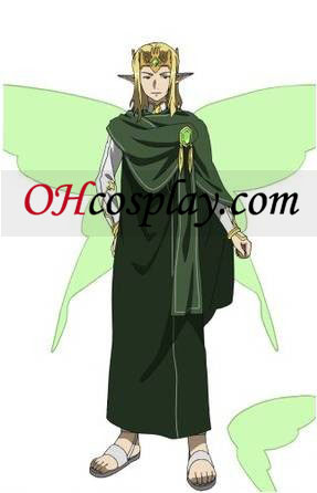 Sword Art Online (on-line) Oberon ALfheim Cosplay Traje