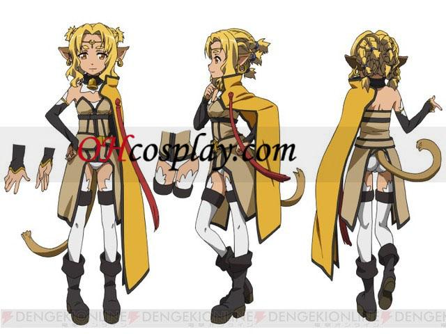 Sword Art Online Alishan Lu udklædning Kostume